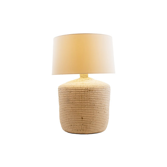 Natural Lighting Seagrass Table Lamp
