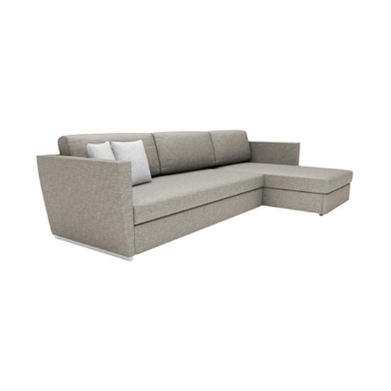 lunala L-shape sofa bed with storage | TREE